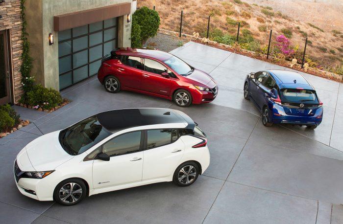 Nissan Leaf нового поколения представлен официально