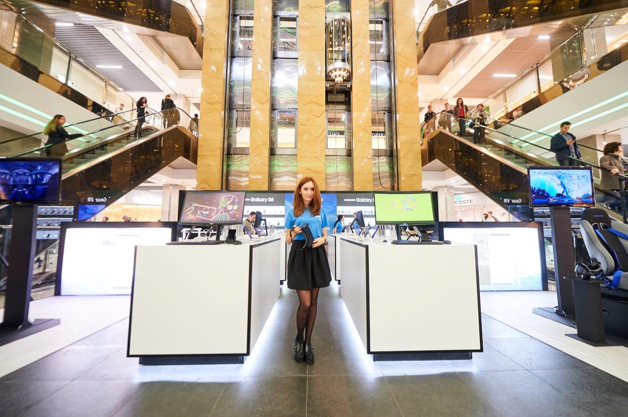 Открытие Samsung Galaxy Studio в Киеве, знакомство с Galaxy Note8