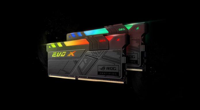 GeiL EVO X ROG-certified ASUS ROG 1