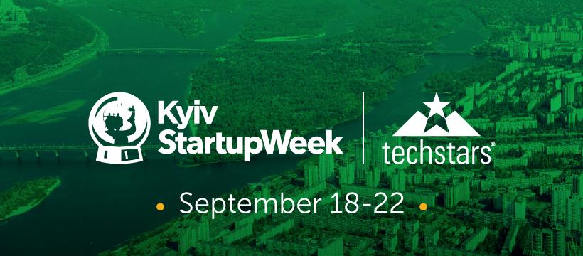 Впервые в Украине официально состоится Techstars Startup Week Kyiv