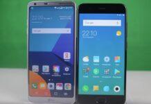 Відео: Порівняння LG G6 та Xiaomi Mi 6