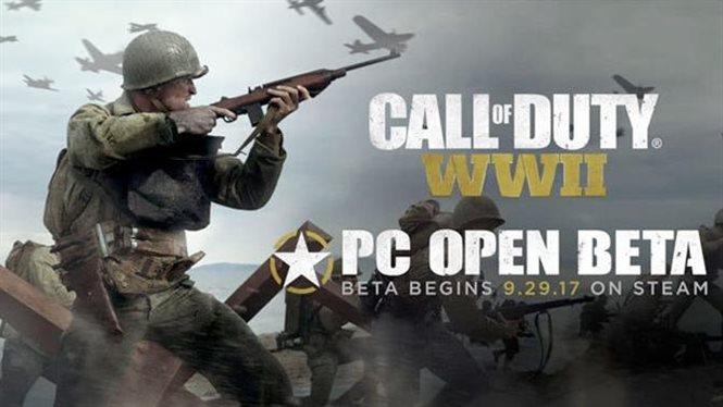 Стали известны даты бета-теста Call of Duty: WWII на ПК