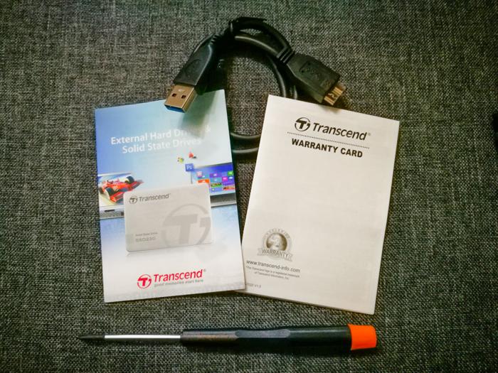 Transcend StoreJet TS0GSJ25CK3