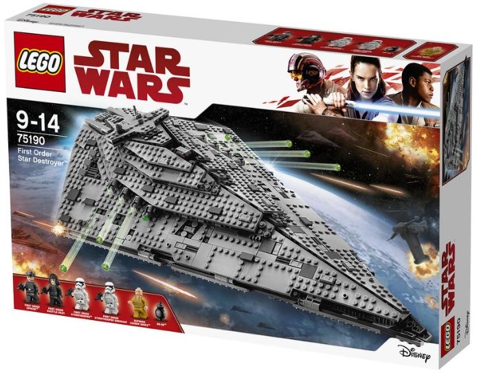 LEGO анонсировала новые наборы по «Звёздным войнам»