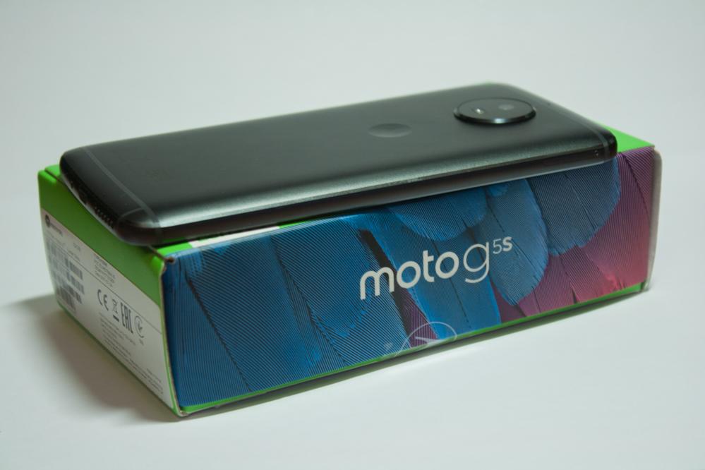 Обзор смартфона Motorola Moto G5S – есть ли улучшения?