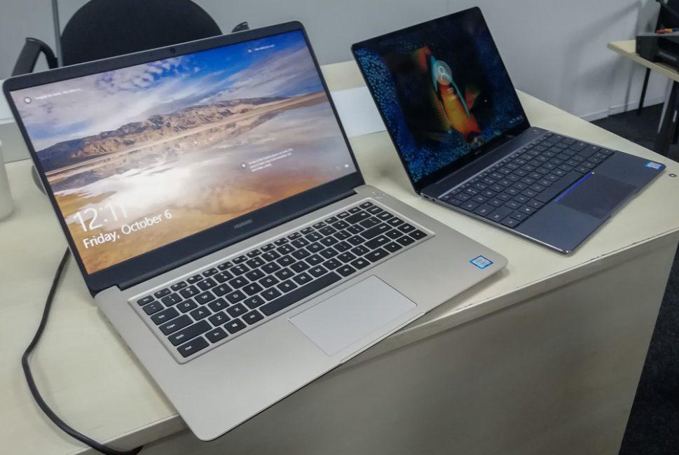Huawei Matebook X и Matebook D