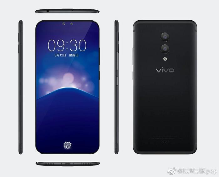 Экран Vivo Xplay 7 займёт 100% площади лицевой панели