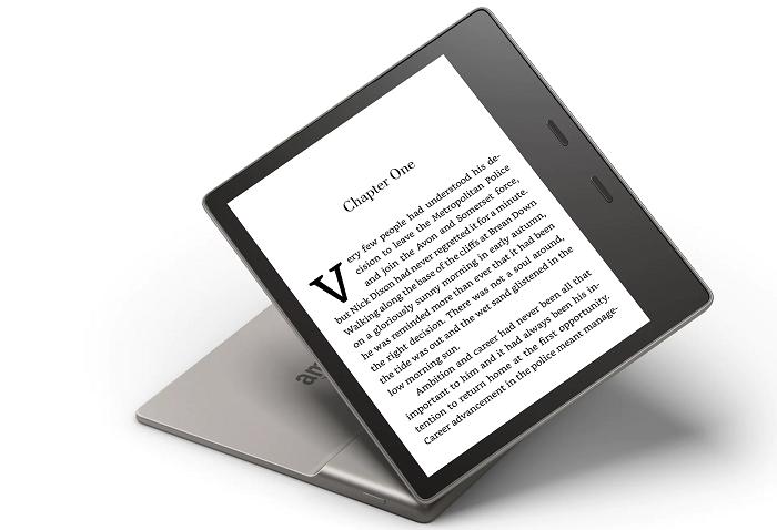 Kindle Oasis станет первой электронной книгой Amazon с защитой от влаги