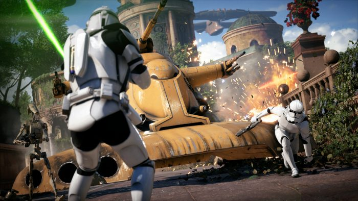 Сюжетный режим Star Wars Battlefront 2 длится 6 часов