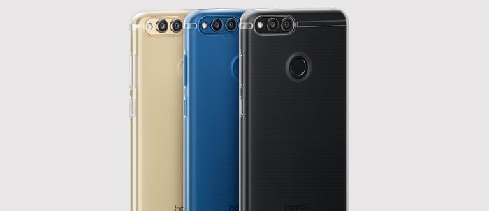Huawei представила новый Honor 7X с дисплеем 18:9