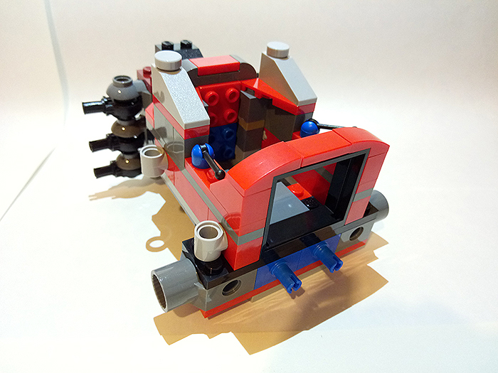 LEGO 70615 Огненный робот Кая
