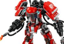 Lego 70615 «Огненный робот Кая»