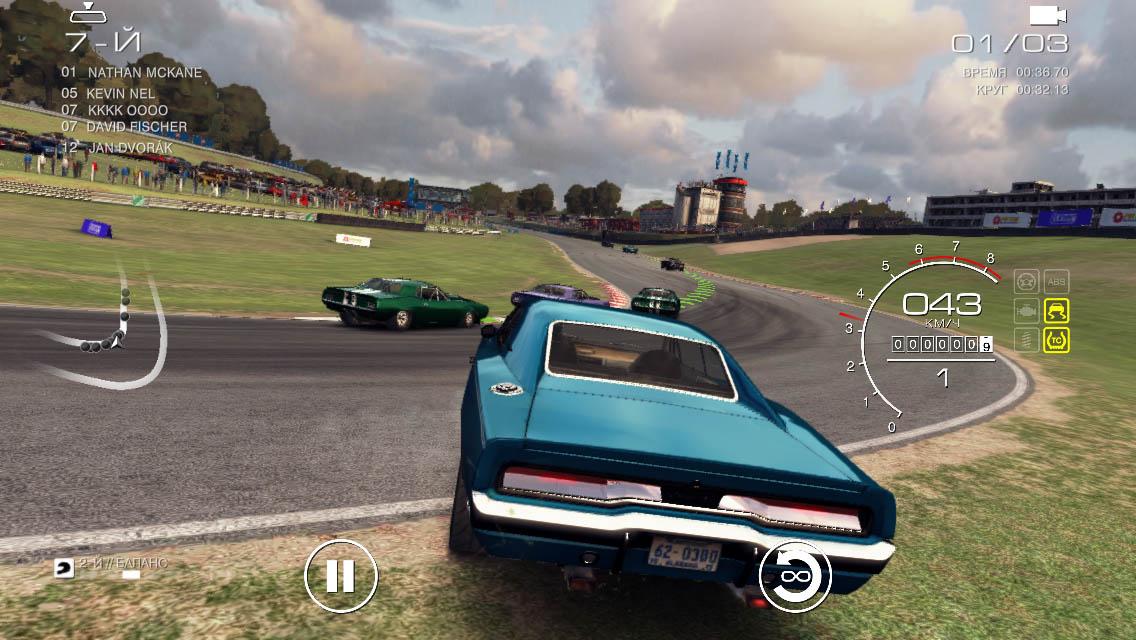 Обзор GRID Autosport - лучшие мобильные гонки