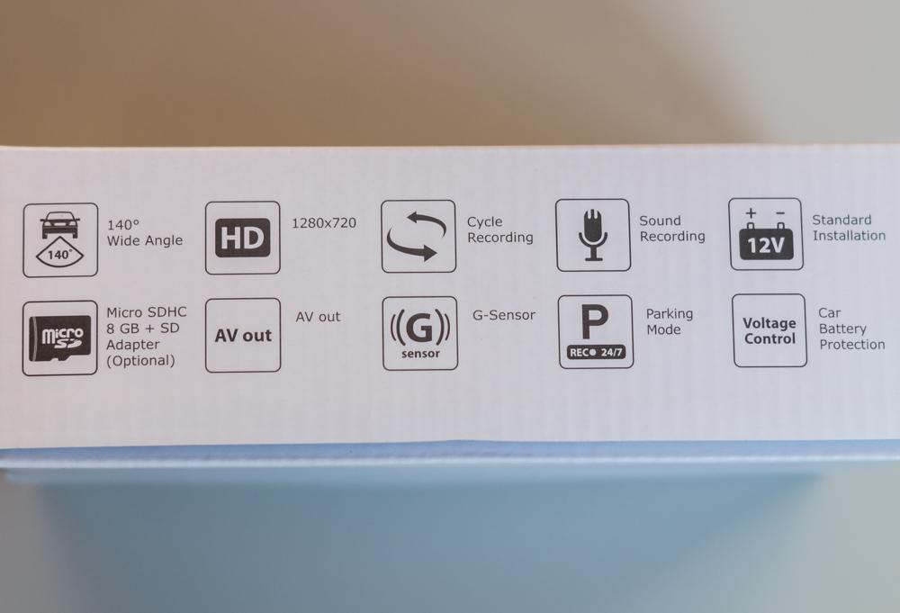 Обзор автомобильного регистратора Gazer H714