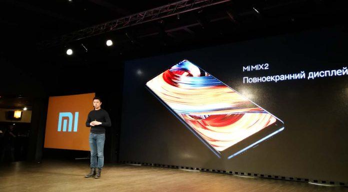 Xiaomi презентовала безрамочный флагман Mi MIX 2 в Украине