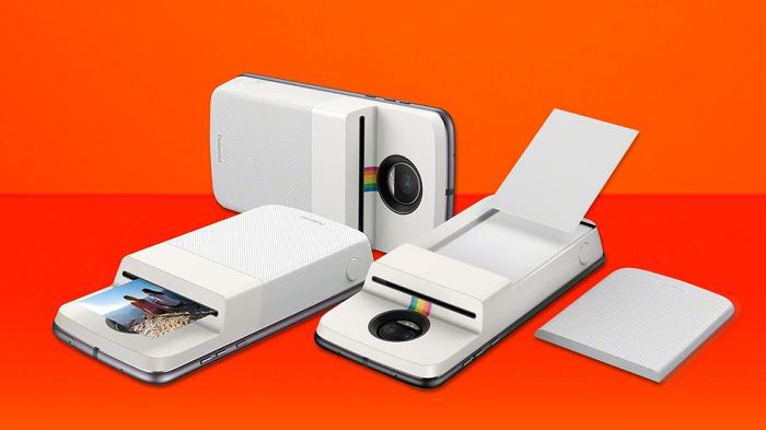 Новый Moto Mods от Polaroid превращает смартфон в фотопринтер