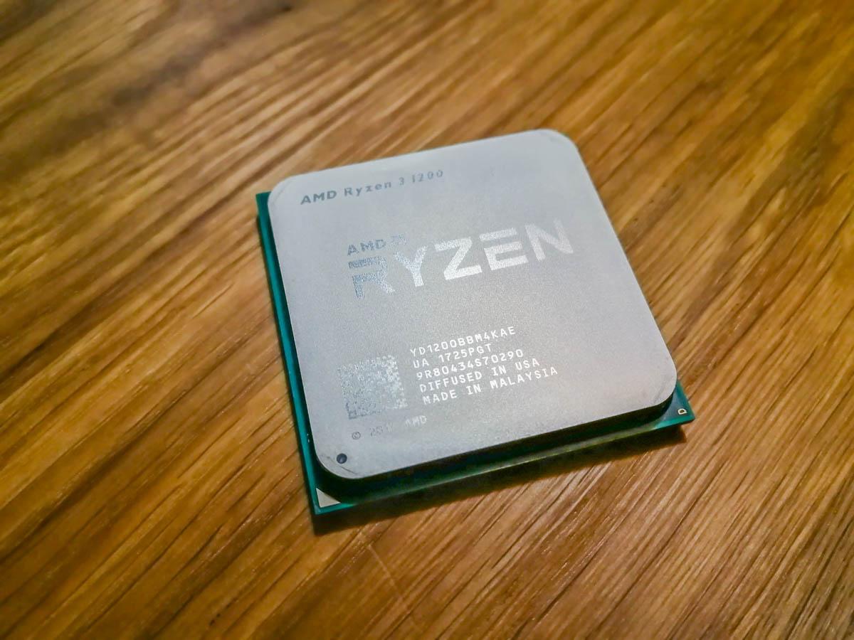 Обзор процессора AMD Ryzen 3 1200 – рубиновый четвертак