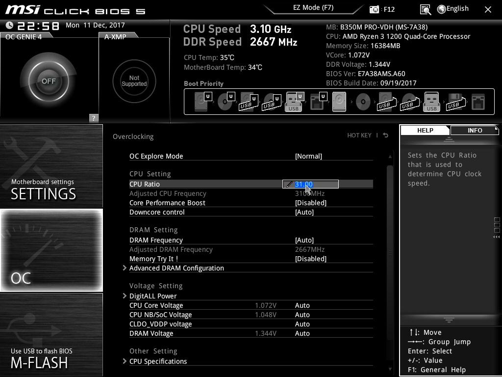 CPU Overclock