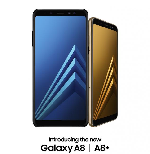 Samsung представила безрамочные Galaxy A8 и A8+ с поддержкой очков виртуальной реальности