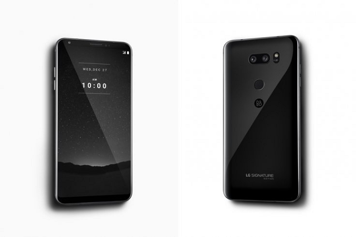 LG выпускает V30 Signature Edition, который стоит дороже iPhone X