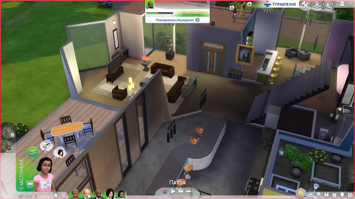Обзор Sims 4 на консоли