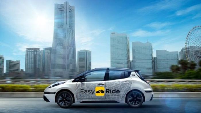 Nissan запускает беспилотные такси в Японии