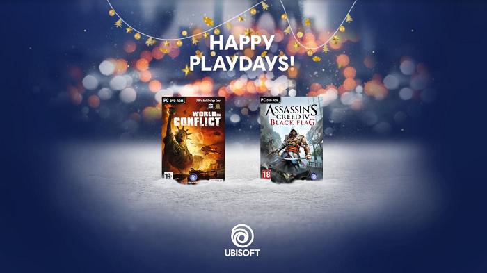 В декабре Ubisoft подарит своим пользователям две бесплатные игры