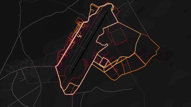 Приложение Strava показало карты военных баз и маршруты военнослужащих