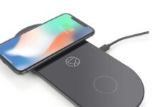 LXORY Wireless Charging Pad