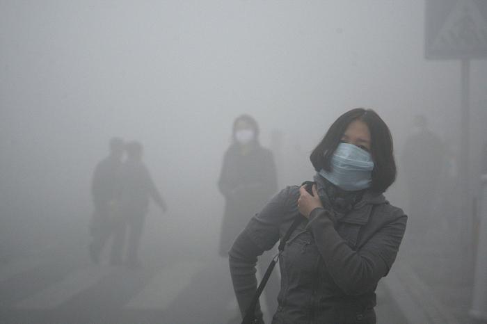 В Китае построили самый большой очиститель воздуха в мире