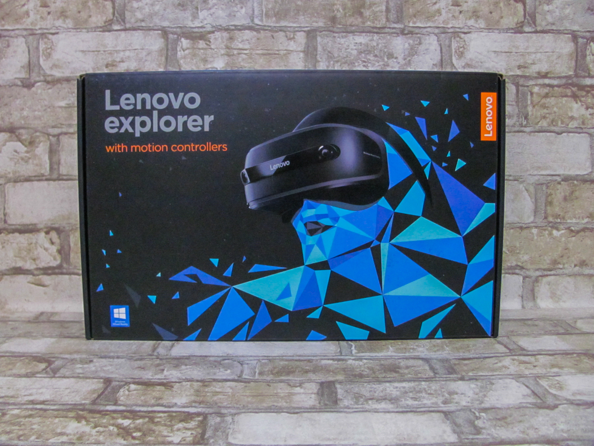 Зовнішній вигляд і матеріали корпусу. Lenovo Explorer являє собою шолом  віртуальної реальності. ba204062f1021