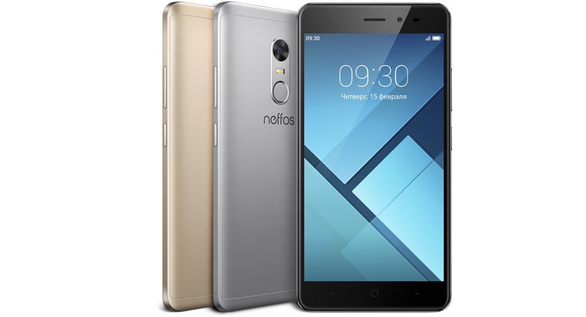 Смартфон Neffos X1 (TP902A24RU) Grey MediaTek MT6755/2 Гб/16 Гб/5