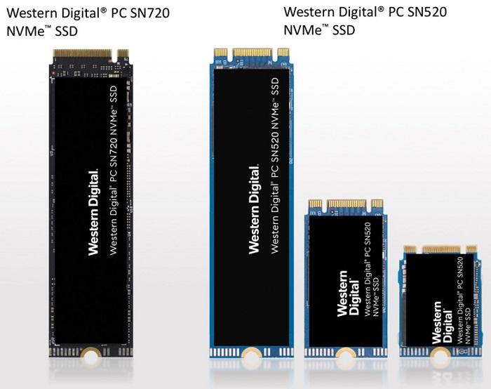 Western Digital анонсировала новые накопители на базе архитектуры хранения NVMe
