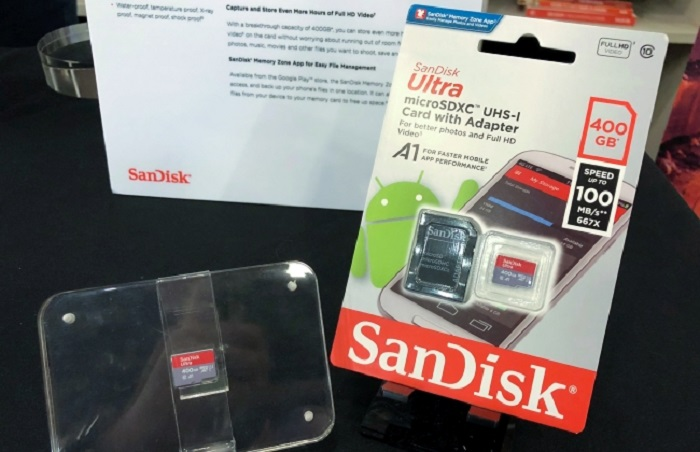 SanDisk Extreme UHS-I-400GB