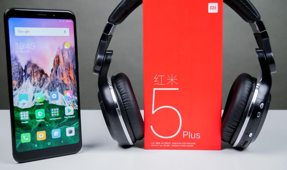 обзор Xiaomi Redmi 5 Plus лучший бюджетник 2018 года