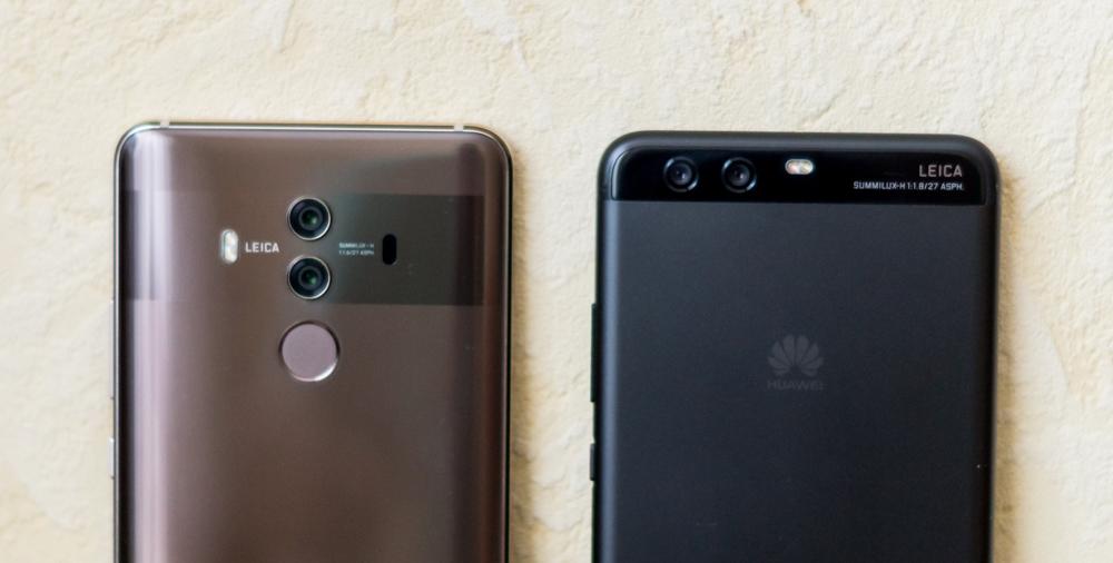 Huawei Mate 10 Pro vs Huawei P10 Plus