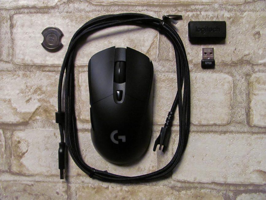 Обзор беспроводной игровой мыши Logitech G703 Lightspeed