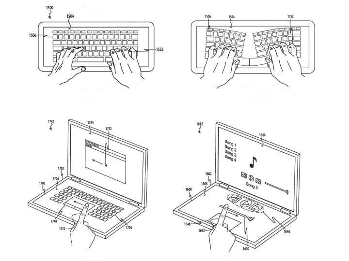 Новые ноутбуки от Apple лишатся клавиатуры и получат второй экран?