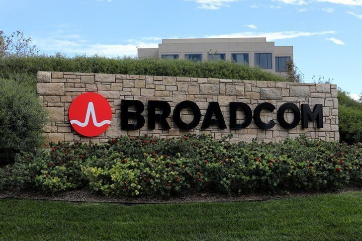 Broadcom Logo Sign
