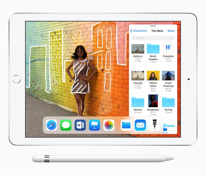 Apple показала новый iPad с поддержкой Apple Pencil