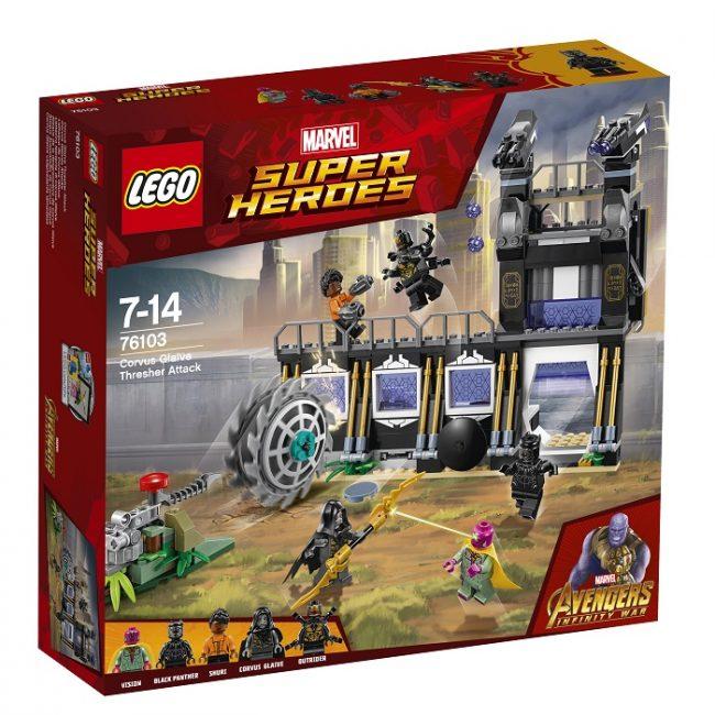 LEGO представила новые наборы Marvel Super Heroes