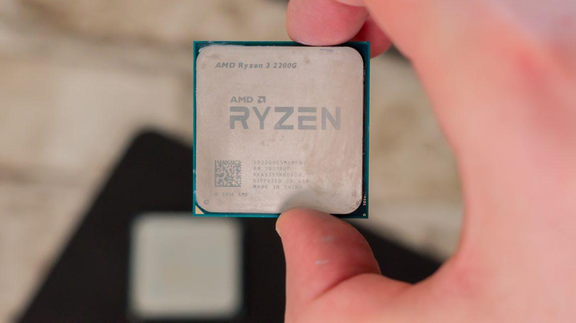 AMD Ryzen 3 2200G 18