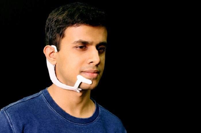 """AlterEgo – """"умное"""" устройство, которое читает мысли"""