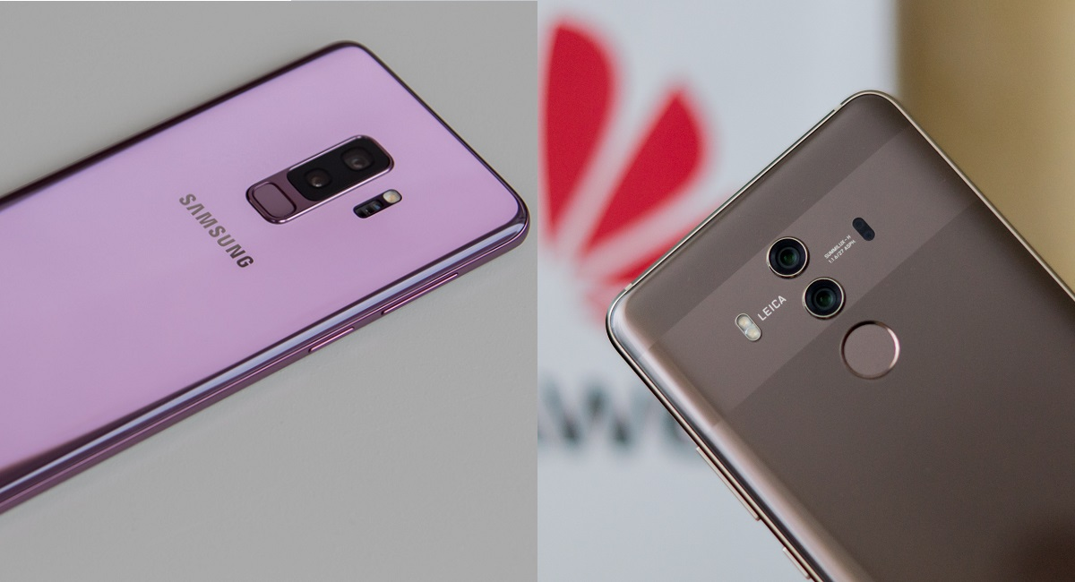 Samsung Galaxy S9+ vs Huawei Mate 10 Pro
