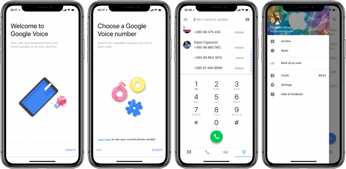 Соглашение между Google Voice и Sprint подходит к концу