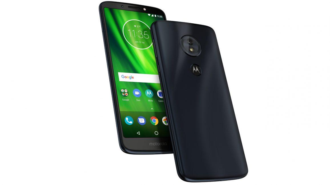 Motorola представила новую линейку смартфонов Moto G6 и Moto E5