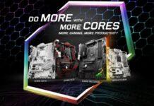 Presentation Intel new chipset msi title