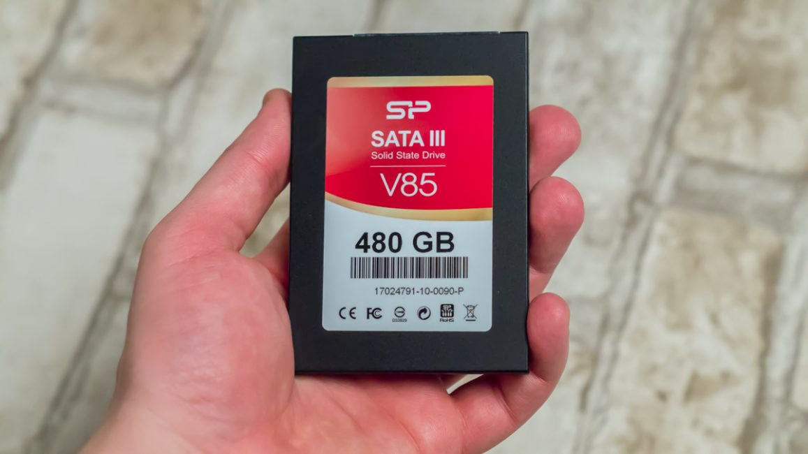 Silicon Power V85 480GB SSD 11