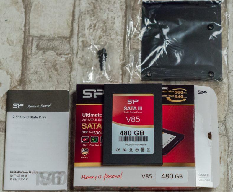 Silicon Power Velox V85 480GB