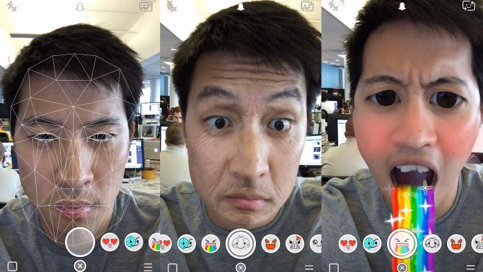 Тепер в Snapchat можна створювати власні фільтри для обличчя